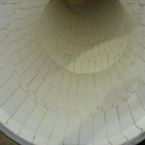 二合一耐磨陶瓷片安装 氧化铝陶瓷片采购 坤宁橡塑