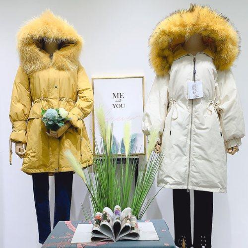 西树影黛羽绒服品牌折扣女装 女装批发货源广州帛艺服饰