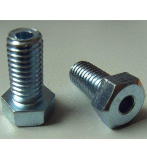 供应螺栓打孔 电力螺栓打孔规格齐全 镀彩螺栓打孔销售厂家 金火