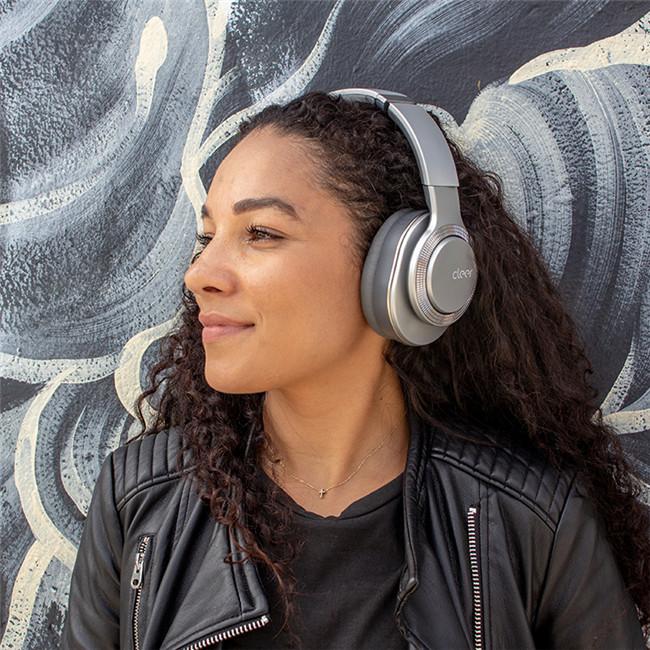 Cleer-Hi-Res音质耳 Flow 耳机Cleer折叠设计耳机