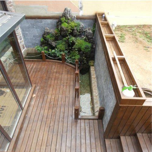 花园户外木地板 景致木业 阳台户外木地板