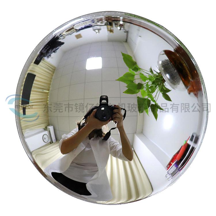 厂家直售室外交通广角镜  道路广角镜  直径29球面镜  转角弯镜  凹凸镜防盗镜