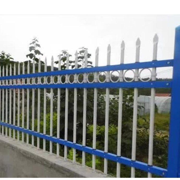 豪华护栏围墙安装  帝灿