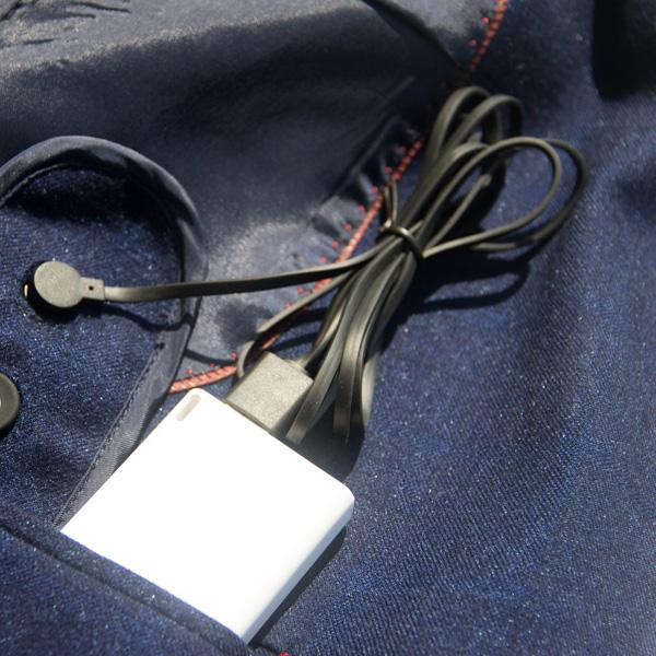 启原纳米科技 USB充电纳米碳智能发热服抗寒保暖