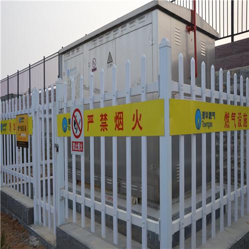 箱变护栏材质塑钢变压器护栏塑钢 营顺