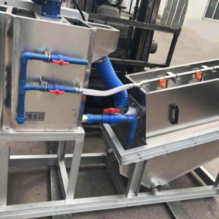 鸿威 螺杆叠螺式污泥脱水机 环保叠螺式污泥脱水机