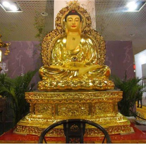 大日如来佛铜像 进忠雕塑 大日如来佛铜像供应