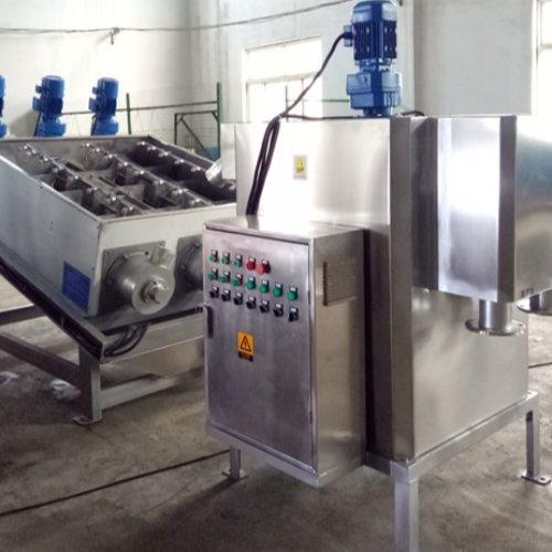 誉达环保 工业叠螺式污泥脱水机定制 叠螺式污泥脱水机安装