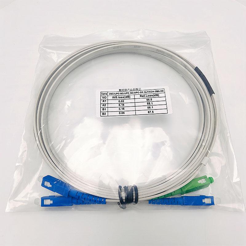 聚纤缆定制2芯广电入围成端跳线