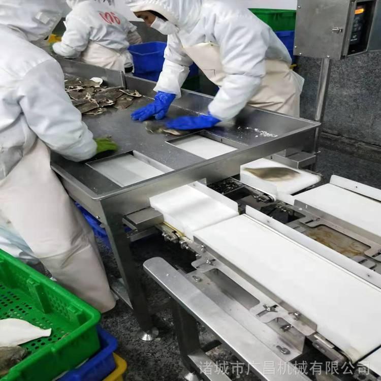 广昌重量分级机价格食品重量分级机罗非鱼自动分选机