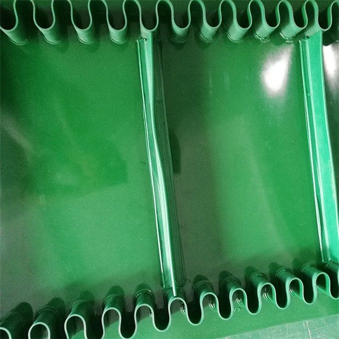 输送带定做 明泰 裙边输送带公司 PVC输送带工厂