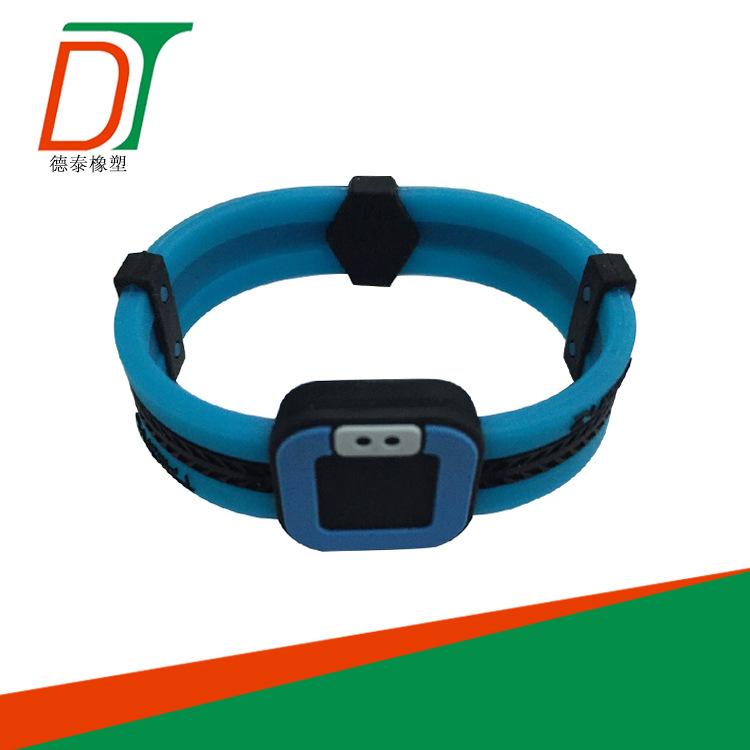 东莞厂家可开模定制简约硅胶手环创意款硅胶能量手环批发