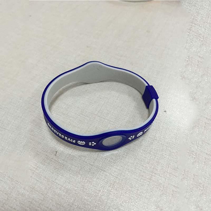 厂家直销 新款硅胶手环定做 凸起字母我的世界手环批发 包邮