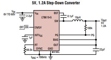 LT8619IDD#PBF 开关稳压器 供应