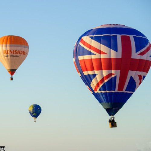 庆典水滴形热气球 乐飞洋 大型水滴形热气球