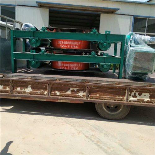浩金 潍坊 RCDD-12电磁自卸式除铁器干式电磁除铁器厂家批发