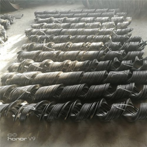 螺旋搅龙叶片定做 搅龙叶片型号 碳钢搅龙叶片供应 宗建
