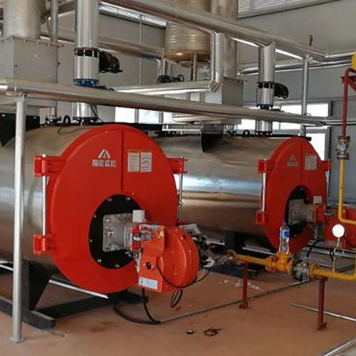 全自动燃气燃油冷凝热水锅炉育雏养殖温室大棚加温供暖热水锅炉