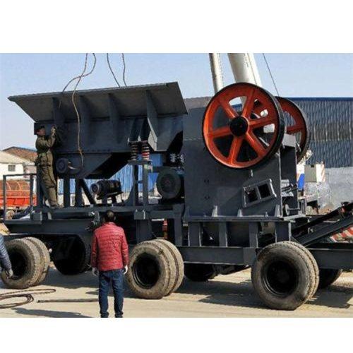出售移动破碎洗沙机 移动破碎洗沙机供应商 振业机械