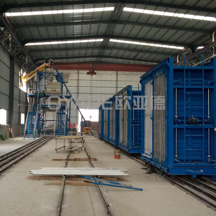 江苏陶粒实心墙板机供货商 欧亚德 重庆陶粒实心墙板机制造商