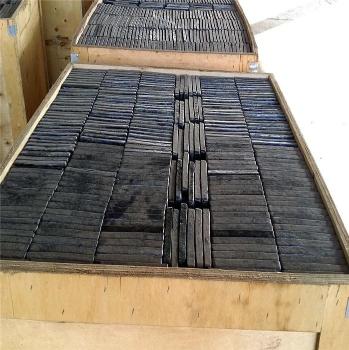 新江化工 刮板输送机底部防磨铸石板制造厂 铸石板