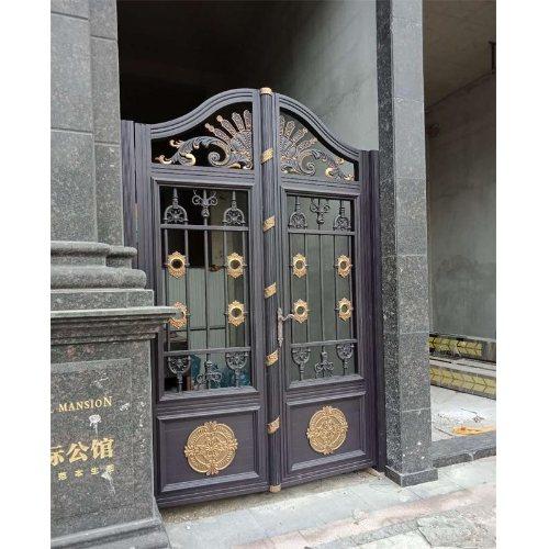平轩金属  铝艺别墅大门