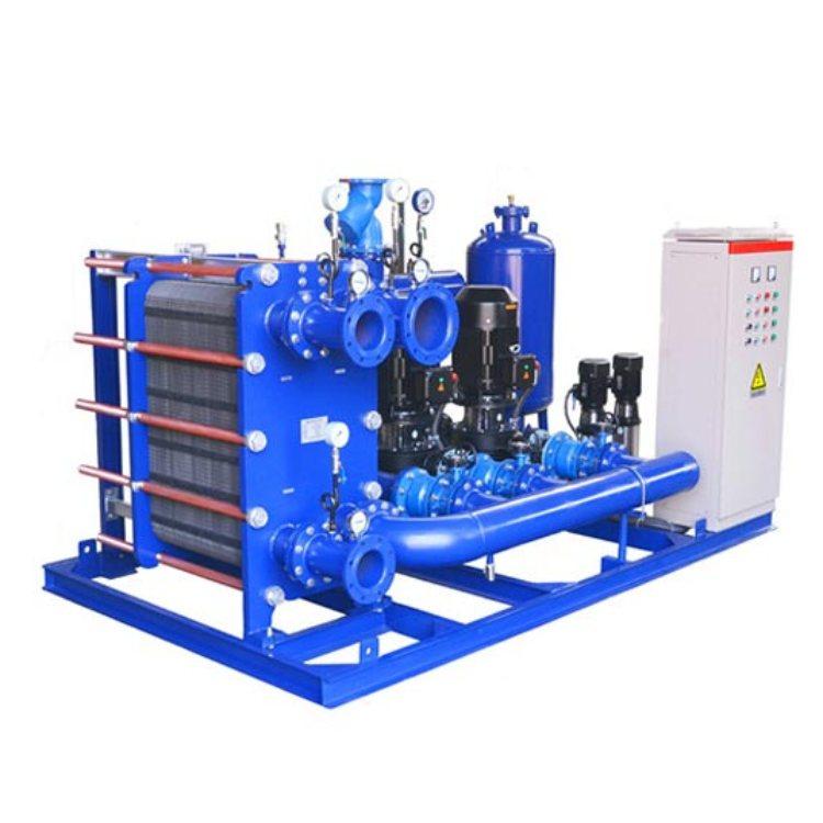旭辉 固定管板式换热机组品牌供应 采暖板式换热机组高效节能