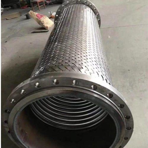 嘉森科技 内衬金属软管报价 法兰连接不锈钢金属软管生产商