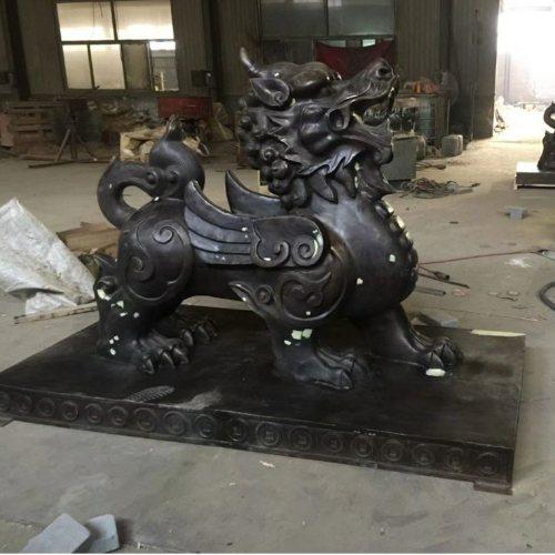 风水貔貅铜雕塑厂家电话 风水貔貅铜雕塑批发厂家 汇丰铜雕