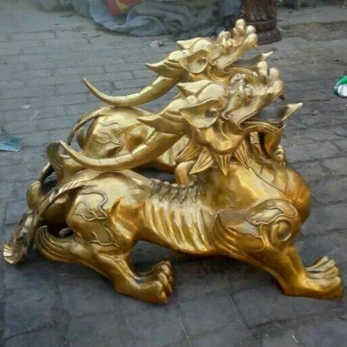 汇丰铜雕 风水貔貅铜雕塑铸造厂 貔貅铜雕塑加工厂