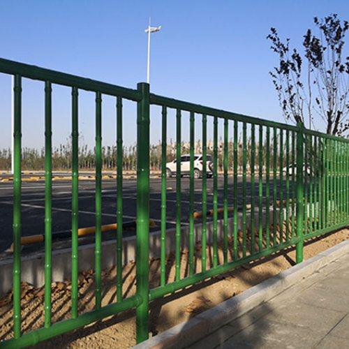 园艺竹节护栏 草坪竹节护栏报价 园艺竹节护栏造价 弘更