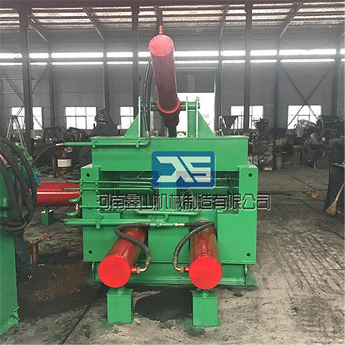 鑫山制造 各种废旧金属金属打包机批发价 钢筋金属打包机批发