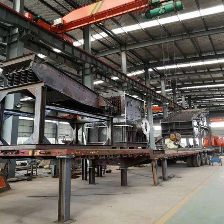 环保移动制砂生产线型号 鸣远 二手移动制砂生产线报价