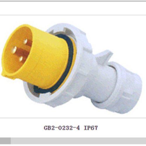 五芯防水连接器 Geeben吉本 微防尘防水连接器