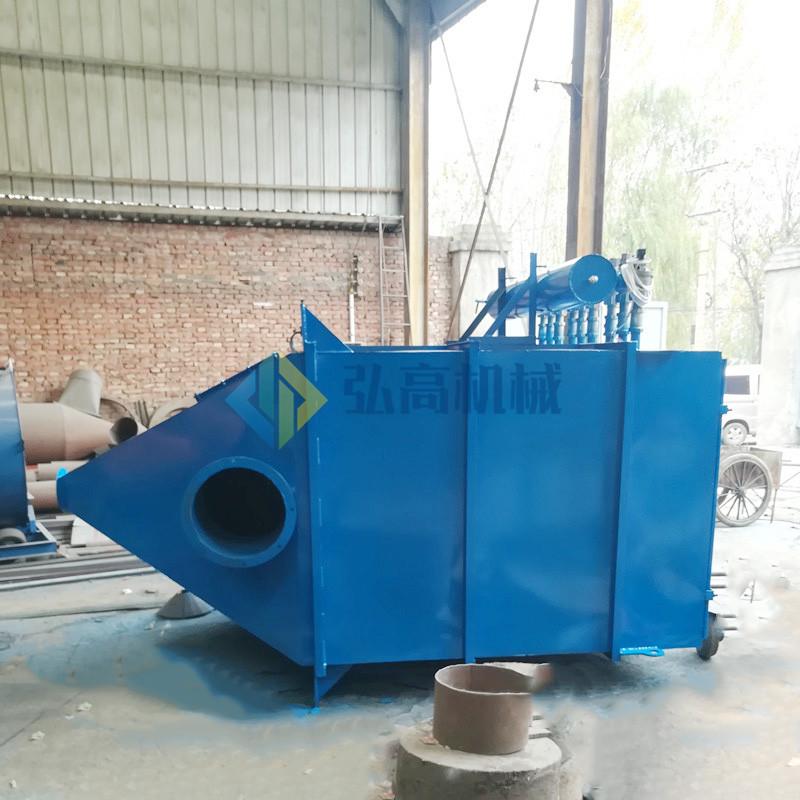 砂石厂配套脉冲除尘器 弘高 石料场布袋除尘设备 质量可靠