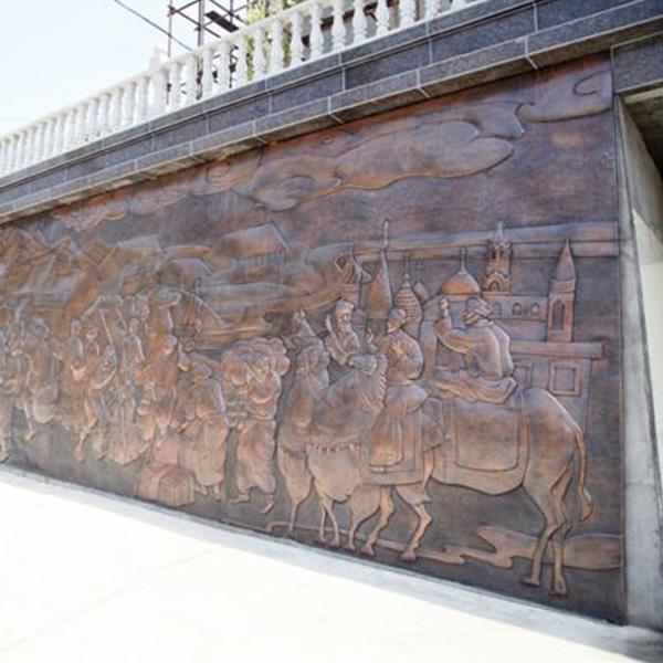 菏泽铜壁画厂家定制 腾艺 日照铜壁画厂家定制 淄博铜壁画制作