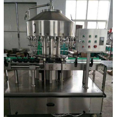 全自动酒水灌装机生产线 酒水灌装机生产线 青州九州灌装