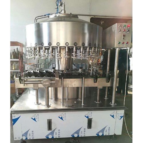 小型自动酒水灌装机生产线 青州九州灌装 全自动酒水灌装机