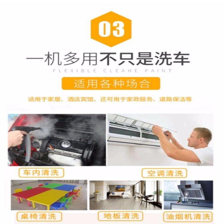 望锦 新型蒸汽洗车机 高压冷水蒸汽洗车机厂家