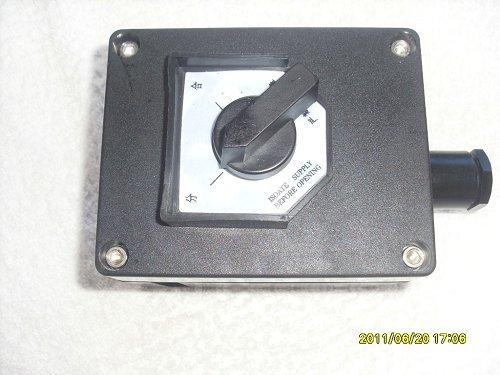 ZXF8030/51-10A防爆防腐照明开关工程塑料单联单控防爆防腐分合开关