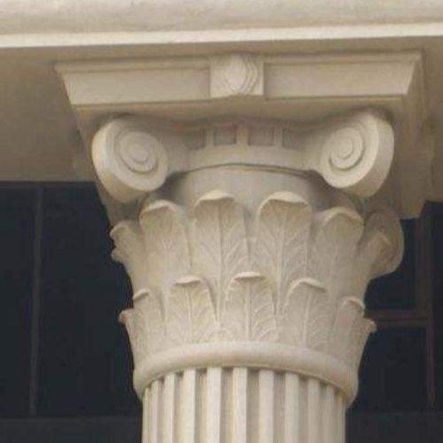 佛山grc罗马柱定制 广东grc罗马柱供应 恒屹建材