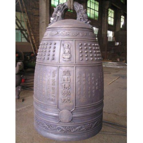仿古铜钟生产厂家 风水铜钟厂 铭海雕塑 仿古铜钟定制