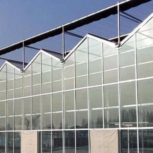 汉威温室 玻璃连栋大棚使用时间长 薄膜连栋大棚质保