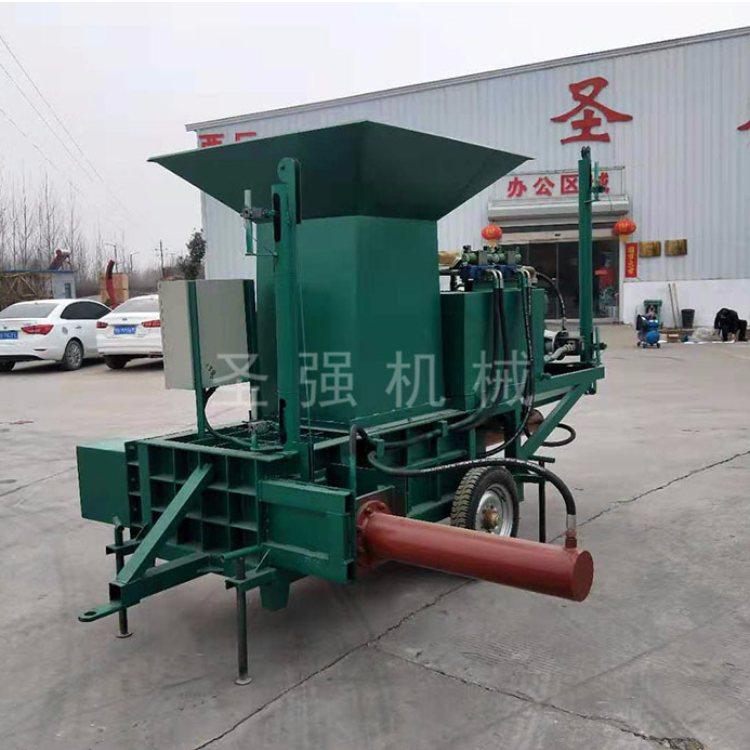 玉米秸秆压块机出售 立式玉米秸秆压块机厂商 圣强