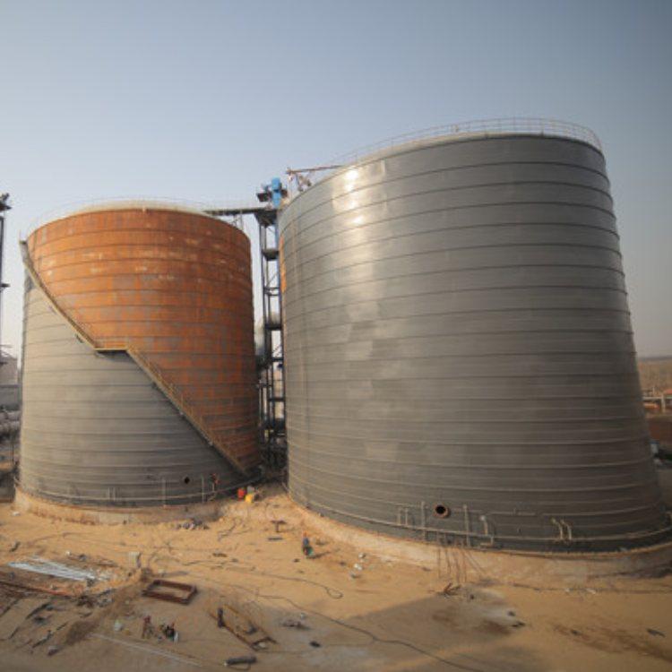 10万吨钢板库定做 2万吨钢板库品牌 元丰 钢板库生产厂家
