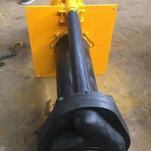 石灰液下渣浆泵护板 矿山专用液下渣浆泵供应商 中创
