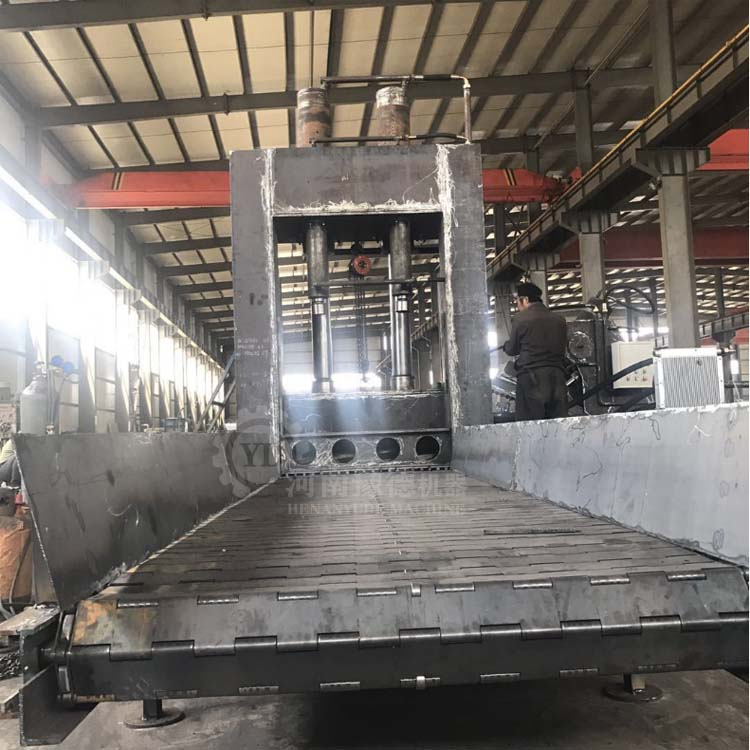 800吨废金属龙门剪 彩钢瓦剪切机 金属板材剪断机