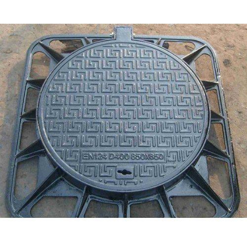 球墨铸铁井盖安装 旭恒 圆形球墨铸铁井盖规范 球墨铸铁井盖设备