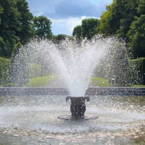 七彩数码喷泉价格 数码喷泉施工厂家 数码喷泉 古艺