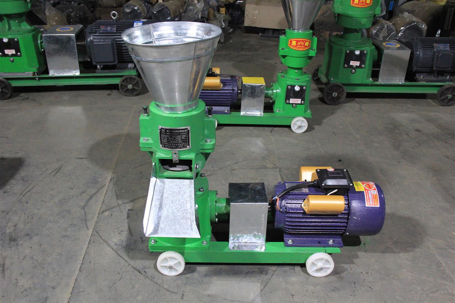 专业颗粒机厂家 全国包邮 牛羊鸡鸭鹅猪饲料颗粒机 畜牧机械设备